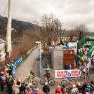 Nordkette Quartett Start Mountainbike Uphill