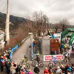 Nordkette Quartett Start Mountainbike Uphill