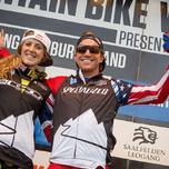 Rachel Atherton & Aaron Gwin