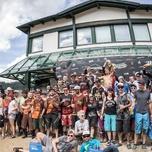 24h-Downhill Semmering Siegerehrung Teams