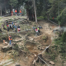 iXS EDC Leogang - Steile Wurzelpassage
