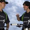 Zum News-Artikel Sam Hill und Brendan Fairclough im Bikepark Semmering