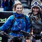 Laura Brethauer, Steffi Teltscher beim Ischgl Overmountain