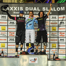 Maxxis Dual Slalom Siegerehrung Damen