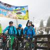 Zum News-Artikel Trutzaktion in Schaldming/Rohrmoos: 100 Biker schieben ihr Bike zum Riesachsee