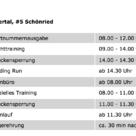 iXS Rookies Cup Brandnertal - Zeitplan