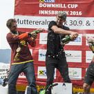 Sieger Raiffeisen Club Downhill Cup Innsbruck