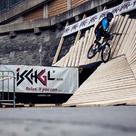 Ischgl Overmountain Challenge Wallride Sturz