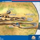 Grafik 4X Weltcup Kurs in Leogang